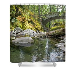 Nickel Creek 1024 Shower Curtain