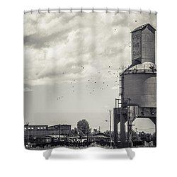 Nickel Plate Road  Shower Curtain by Off The Beaten Path Photography - Andrew Alexander