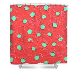 Nickels And Dimes Shower Curtain by Thomas Blood