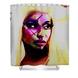 Nicki Minaj 7e Shower Curtain