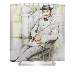 Nicolo Minca. 1908 Shower Curtain