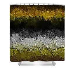 Shower Curtain featuring the digital art Nidanaax-flat by Jeff Iverson