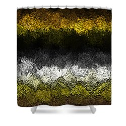 Shower Curtain featuring the digital art Nidanaax-glossy by Jeff Iverson
