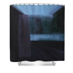 Nietzsche Shower Curtain
