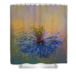 Nigella Shower Curtain by Eva Lechner
