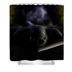 Shower Curtain featuring the photograph Nigfhtstalker by Mario Carini