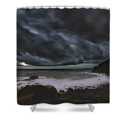 Night At Boulder Beach Shower Curtain