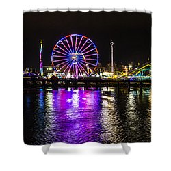 Night At The Carnival Shower Curtain