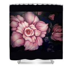 Night Blooms Shower Curtain