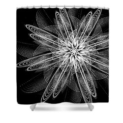 Night Blossom Shower Curtain