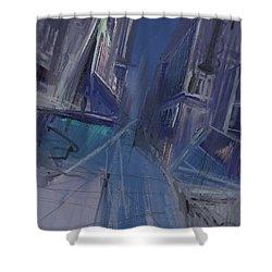 Night City Shower Curtain