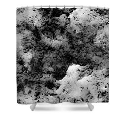 Night Clouds Abstract Shower Curtain by Bruce Pritchett
