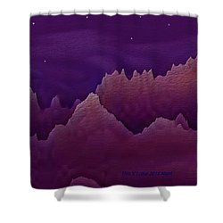 Night Shower Curtain