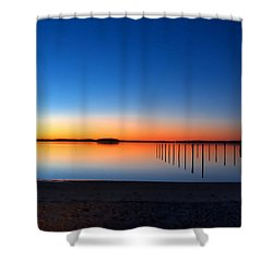 Night Fall Shower Curtain