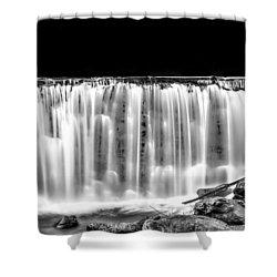 Night Fall Shower Curtain by Wayne King