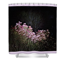 Night Flowers Shower Curtain by YoMamaBird Rhonda