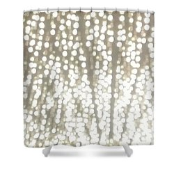 Night Full Of Bling Shower Curtain