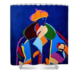 Night Glow Shower Curtain