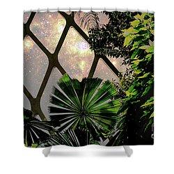 Night In The Arboretum Shower Curtain