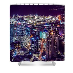 Night In The City Shower Curtain