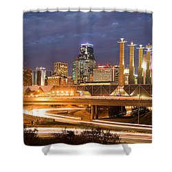 Night Kc Shower Curtain