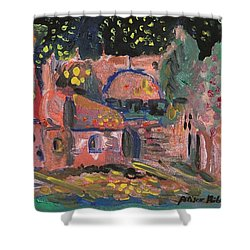 Night Landscape Shower Curtain by Rita Fetisov