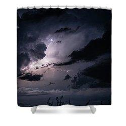 Night Lightening Shower Curtain