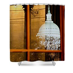 Night Shower Curtain by Mitch Cat