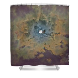 Night Moon Shower Curtain