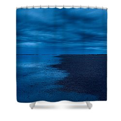 Shower Curtain featuring the photograph Night Moves In by Julian Cook