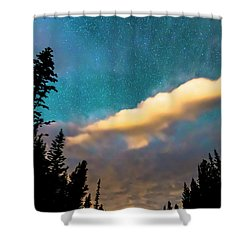 Shower Curtain featuring the photograph Night Moves by James BO Insogna