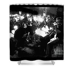 Night Music Shower Curtain by Felipe Adan Lerma