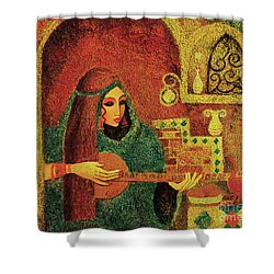 Night Music 3 Shower Curtain