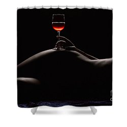 Night Shower Curtain by Naman Imagery
