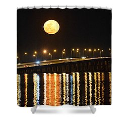Night Of Lights Shower Curtain
