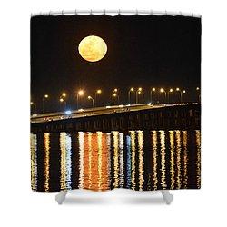 Night Of Lights Shower Curtain