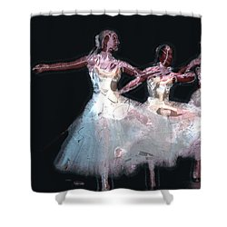 Night Of The Ballet Shower Curtain