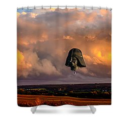 Night Of The Vader Shower Curtain