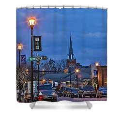 Night On The Town Shower Curtain