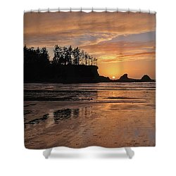 Night Pastel Shower Curtain