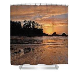 Night Pastel Shower Curtain