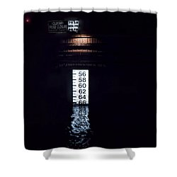 Night Piling Shower Curtain