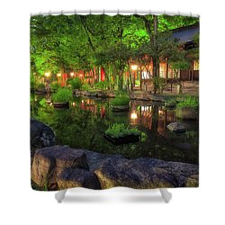 Night Reflections Shower Curtain