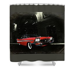 Night Ride Shower Curtain