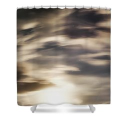 Shower Curtain featuring the photograph Night Sky 1 by Leland D Howard