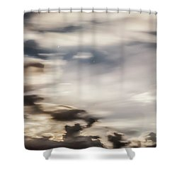 Shower Curtain featuring the photograph Night Sky 2 by Leland D Howard