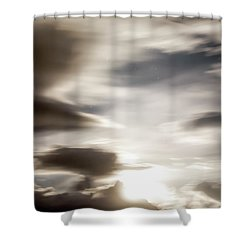 Shower Curtain featuring the photograph Night Sky 4 by Leland D Howard