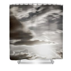 Shower Curtain featuring the photograph Night Sky 5 by Leland D Howard