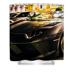 Night Soul Shower Curtain