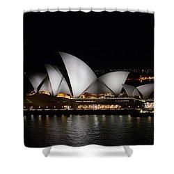 Night Symphony Shower Curtain